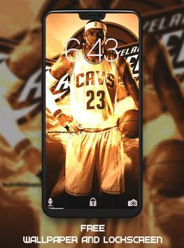 LeBron James Wallpaper HD screenshot 3