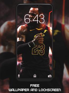 LeBron James Wallpaper HD screenshot 1