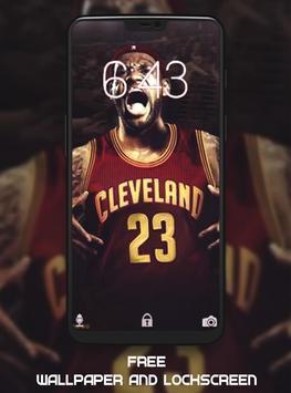 LeBron James Wallpaper HD screenshot 2