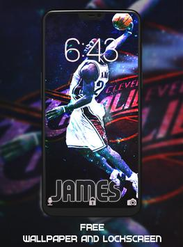 LeBron James Wallpaper HD screenshot 4