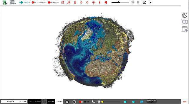 FloodRISKsim 2030 SEA LEVEL screenshot 2