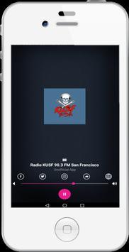 KUSF 90.3 FM – San Francisco poster