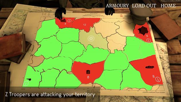 ZWar1: The Great War of the Dead captura de pantalla 2