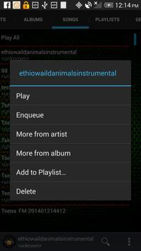 Music Player Free screenshot 1