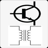 Electrical symbols Hub icon