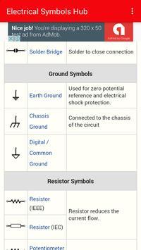Electrical symbols Hub screenshot 1