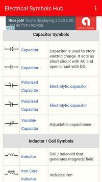 Electrical symbols Hub screenshot 2
