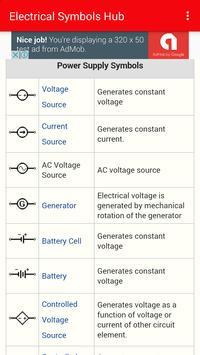 Electrical symbols Hub screenshot 3