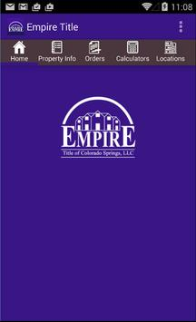 Empire Title poster