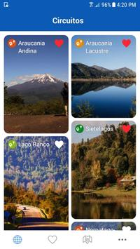 Scenic Route Lakes & Volcanoes poster