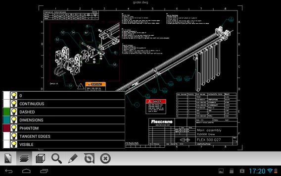 Etoolbox Mobile CAD Viewer تصوير الشاشة 4
