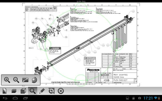 Etoolbox Mobile CAD Viewer تصوير الشاشة 6