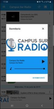 Campus Sur Radio स्क्रीनशॉट 5