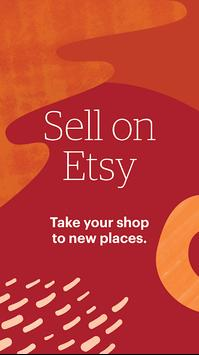 Sell on Etsy poster