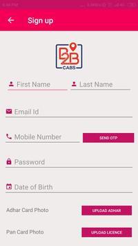 B2B Cabs screenshot 2