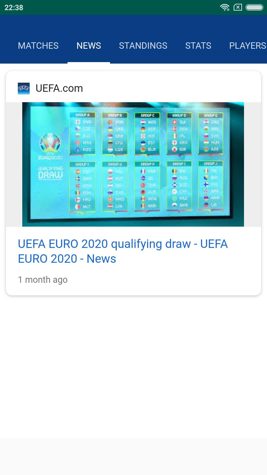 Euro 2020 Live Scores And Fixtures For Android Apk Download