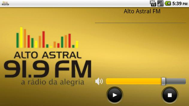 Alto Astral FM 91.9 screenshot 2
