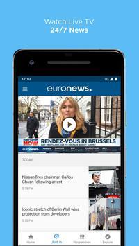 Euronews syot layar 2