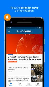 Euronews syot layar 4