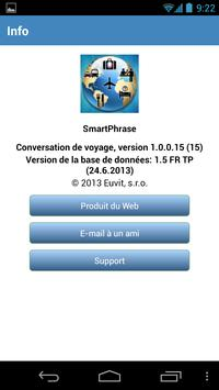 Conversation de voyage screenshot 5