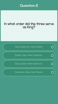 Old Testament Stories Bible Quiz screenshot 1