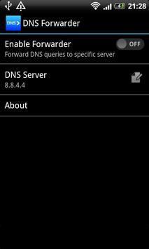 DNS forwarder Cartaz