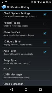 Notification History screenshot 2