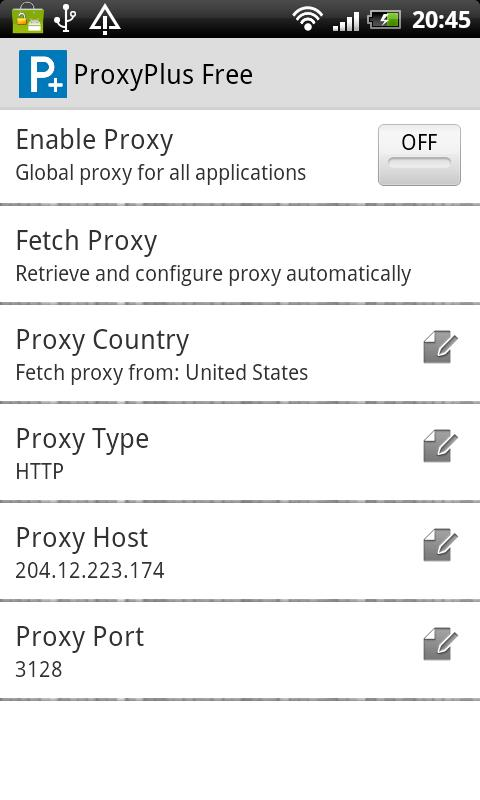 ProxyPlus Free for Android - APK Download
