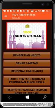 1001 Hadits Pilihan poster
