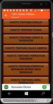 1001 Hadits Pilihan screenshot 2