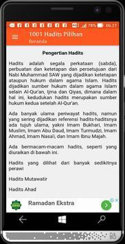 1001 Hadits Pilihan screenshot 3