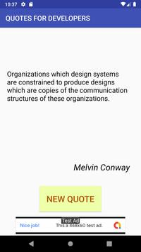 Quotes for Developers screenshot 1