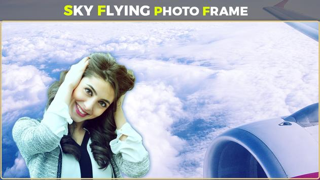 Sky Flying Photo Frames poster