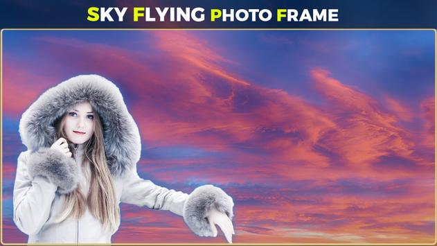 Sky Flying Photo Frames screenshot 1