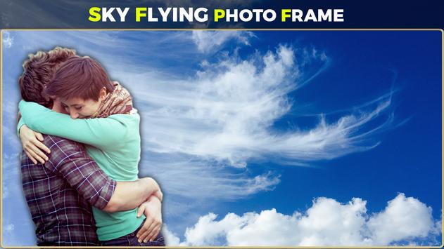 Sky Flying Photo Frames screenshot 2