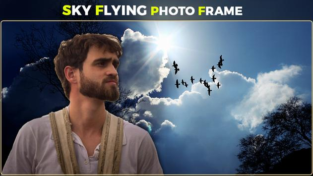 Sky Flying Photo Frames screenshot 3