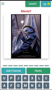 Horror posters: Movie Quiz screenshot 1