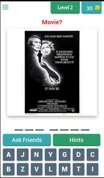 Horror posters: Movie Quiz screenshot 2