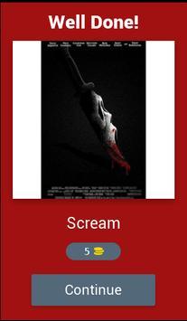 Horror posters: Movie Quiz screenshot 3