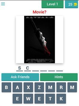 Horror posters: Movie Quiz screenshot 7