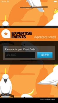 Expertise Events poster
