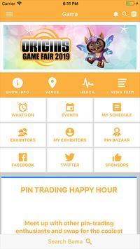 Origins Game Fair 2019 poster