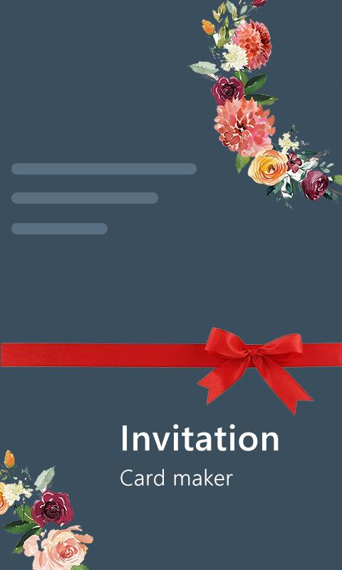 Stylish Invites Easy Invitation Card Maker For Android