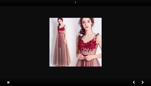 Evening dress fashion screenshot 2