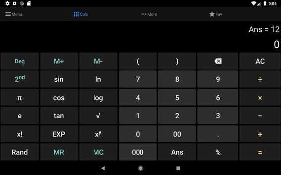 Calculatrice tout-en-un capture d'écran 4