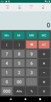 Kalkulator multifungsi poster