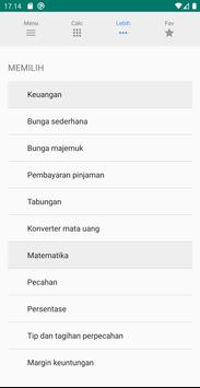 Kalkulator multifungsi screenshot 2