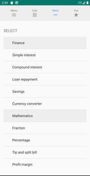 All-in-one Calculator ảnh chụp màn hình 2
