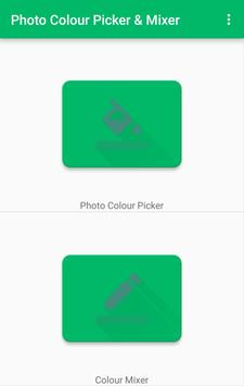 Photo Color Picker & Mixer poster