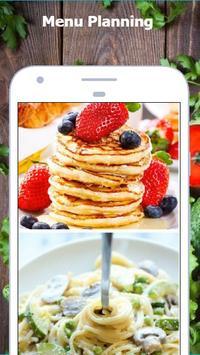 Meal Planner: healthy diets & easy tasty recipes poster